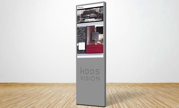 Hdds Vision presenta il suo nuovo totem da esterno
