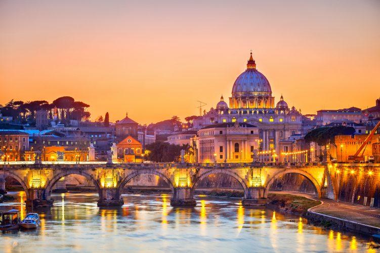 Roma, una città con tanti set naturali