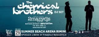 Chemical Brothers a Rimini il 29 luglio