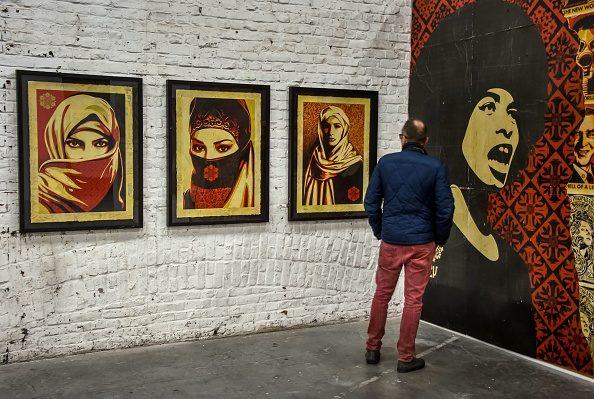 Da Mao a Obama, i volti e l'arte di Shepard Fairey in mostra a Roma