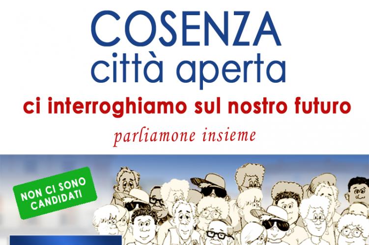 """Cosenza """"Città Aperta"""": il Movimento NOI affronta i problemi della Città"""
