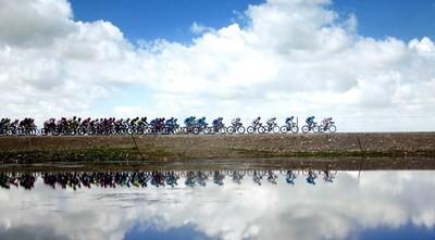 Der Qinghai-See ist mehr als eine atemberaubende Kulisse für ein Radrennen