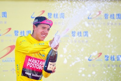 Aguirre gana el Tour de Qinghai Lake gracias a la etapa de montaña