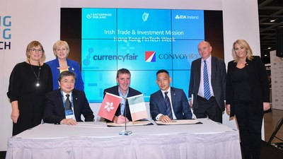 Convoy et CurrencyFair rencontrent le ministre irlandais des Affaires, des Entreprises et de l'Innovation