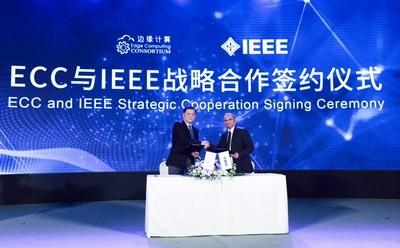 La IEEE Standards Association y ECC firman un acuerdo de cooperación estratégica