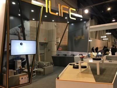 ILIFE dévoile sa série A9 sur le CES 2019 – Aspirateurs robots équipés de capteurs