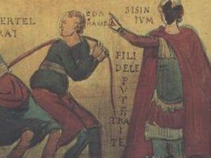 Roma: in un dipinto dell'XI secolo la prima parolaccia in dialetto romanesco della storia