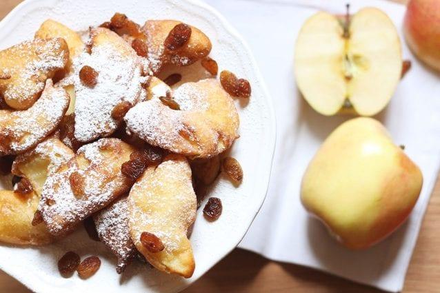 Frittelle di mele con uvetta: la ricetta speciale