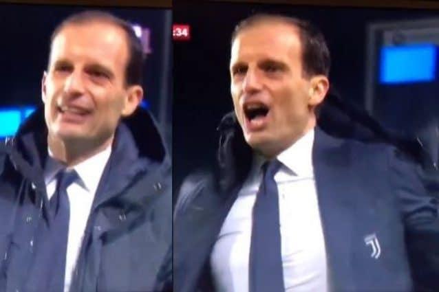 Moviola di Atalanta-Juventus, perché Allegri è stato espulso: era fallo o no su Dybala?
